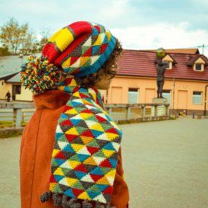 winter sports eco friendly scarf