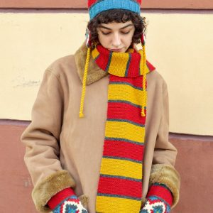 cold weather knit accessories