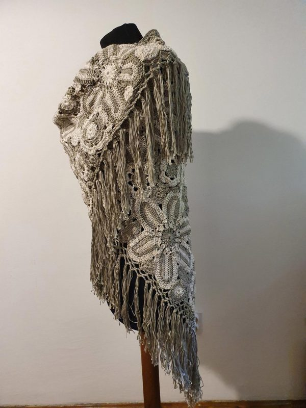 patchwork wrap shawl