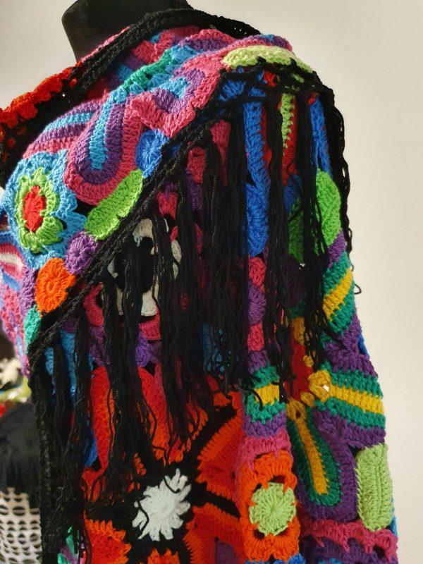 handmade wrap shawl