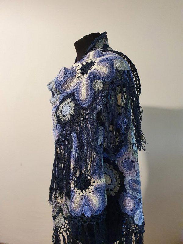 fair trade wrap shawl